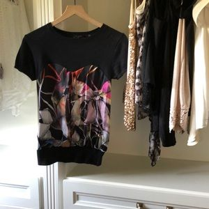 Ted Baker London Ribbon Sweater Top